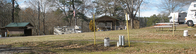 Travel Trailer Park | L&D RV Park | Forsyth, GA | 4789948977